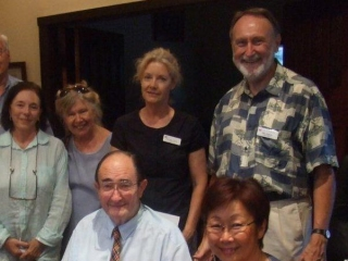 With the Fellowship of Australian Writers, February 2011