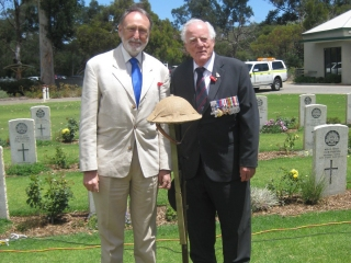 Remembrance Day, War Cemetery, Nedlands, November 2012
