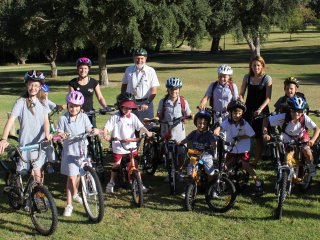 Ride to School Day (Dalkeith Primary School), March 2012