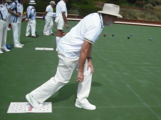 With the Hollywood-Subiaco Bowling Club, January 2012